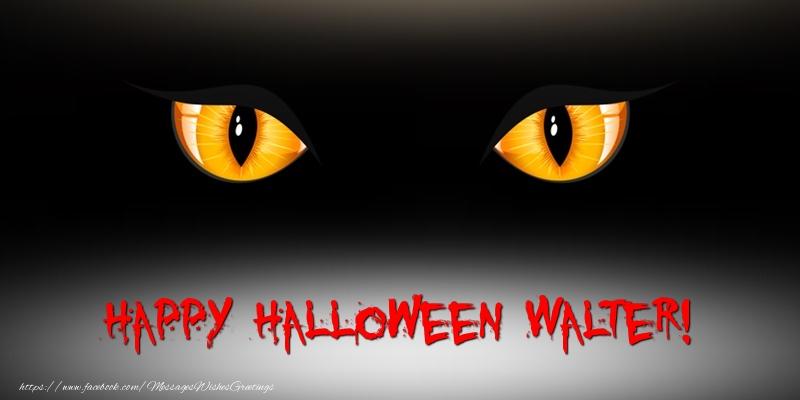Greetings Cards for Halloween - Happy Halloween Walter!