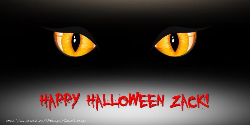 Greetings Cards for Halloween - Happy Halloween Zack!