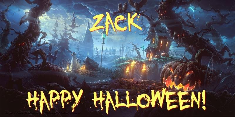 Greetings Cards for Halloween - Zack Happy Halloween!
