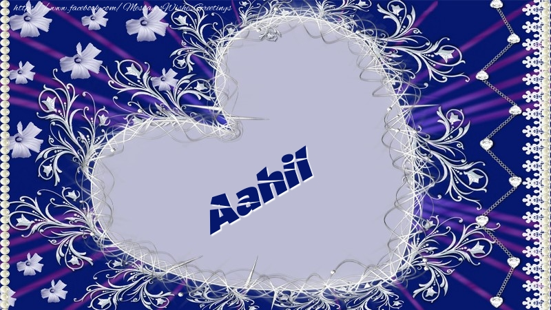 Greetings Cards for Love - Aahil