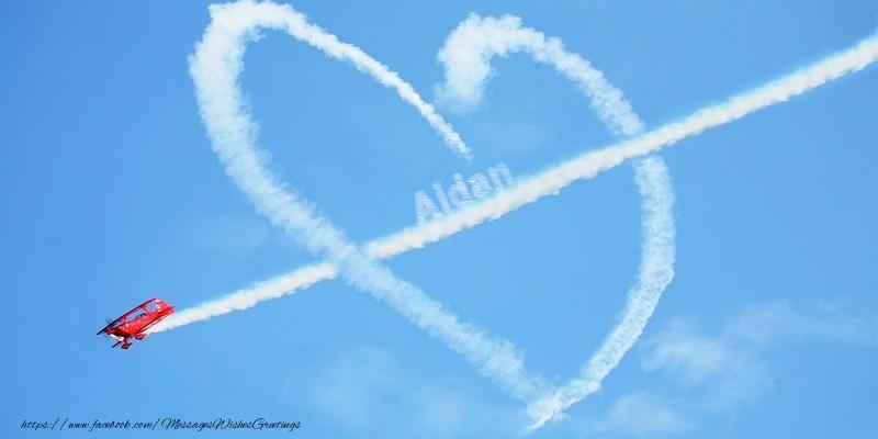 Greetings Cards for Love - Aidan