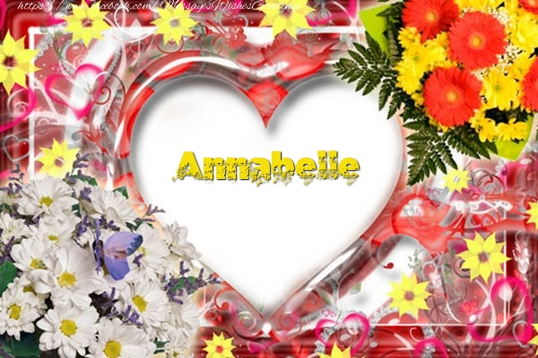 Greetings Cards for Love - Annabelle
