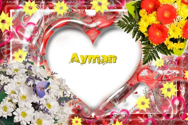 Greetings Cards for Love - Ayman