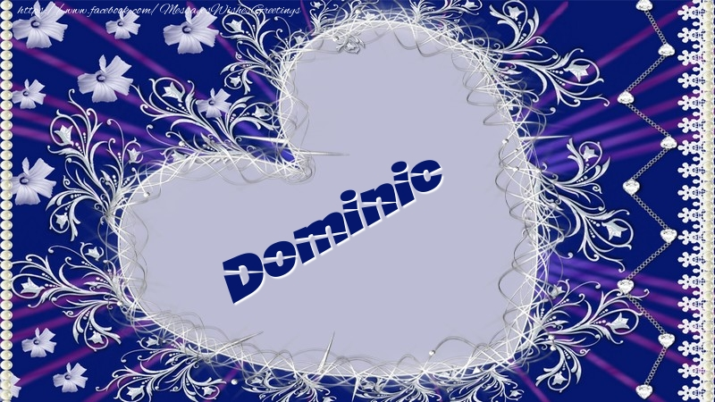 Greetings Cards for Love - Dominic