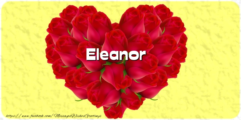 Greetings Cards for Love - Eleanor