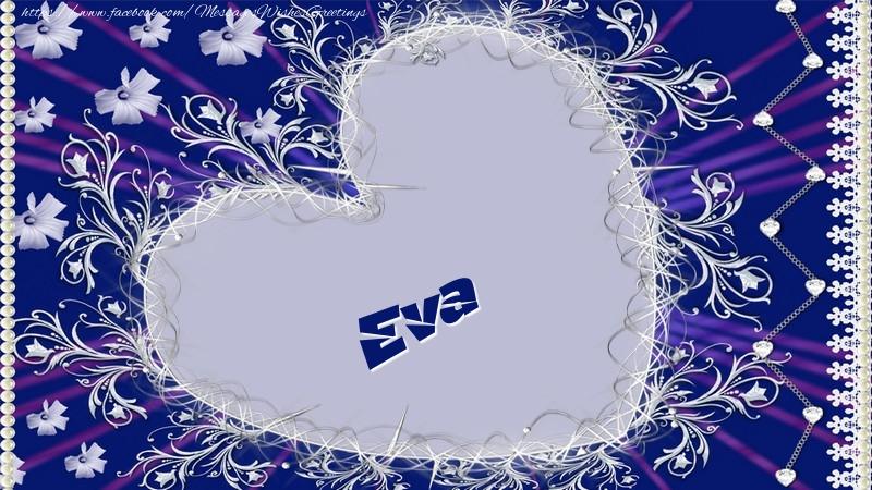 Greetings Cards for Love - Eva
