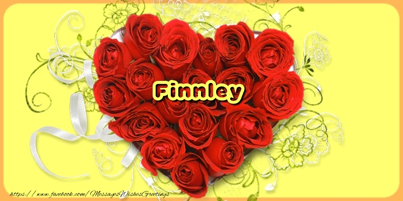Greetings Cards for Love - Finnley