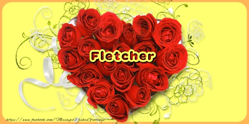 Greetings Cards for Love - Fletcher