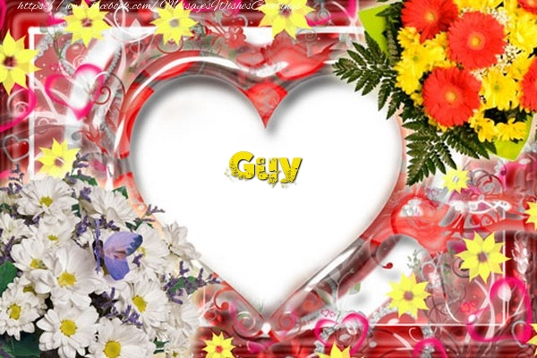 Greetings Cards for Love - Guy