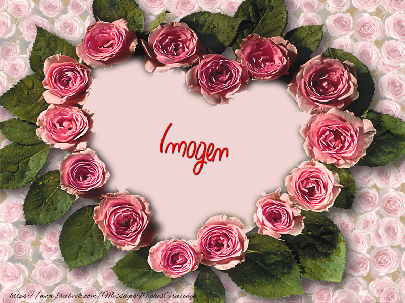Greetings Cards for Love - Imogen