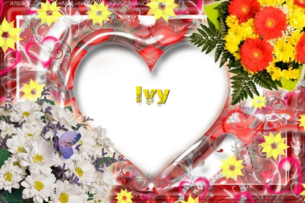 Greetings Cards for Love - Ivy