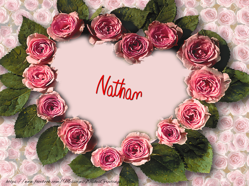 Greetings Cards for Love - Nathan