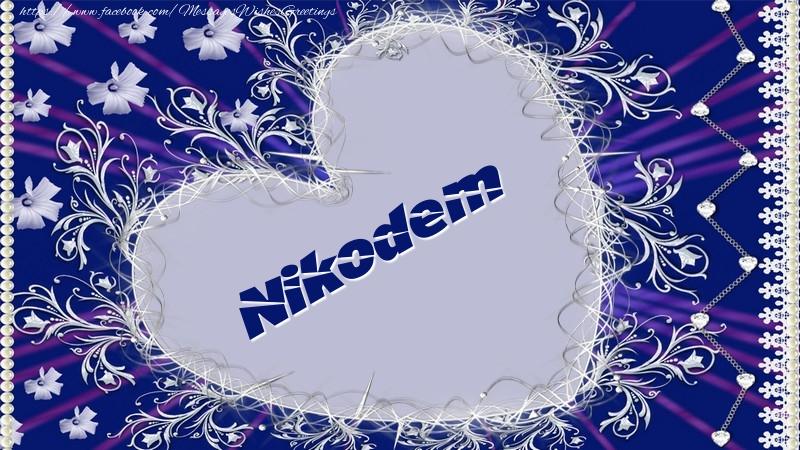 Greetings Cards for Love - Nikodem