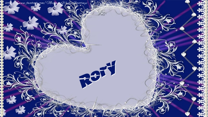 Greetings Cards for Love - Rory