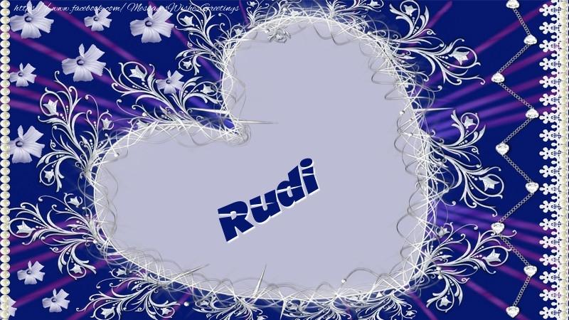 Greetings Cards for Love - Rudi