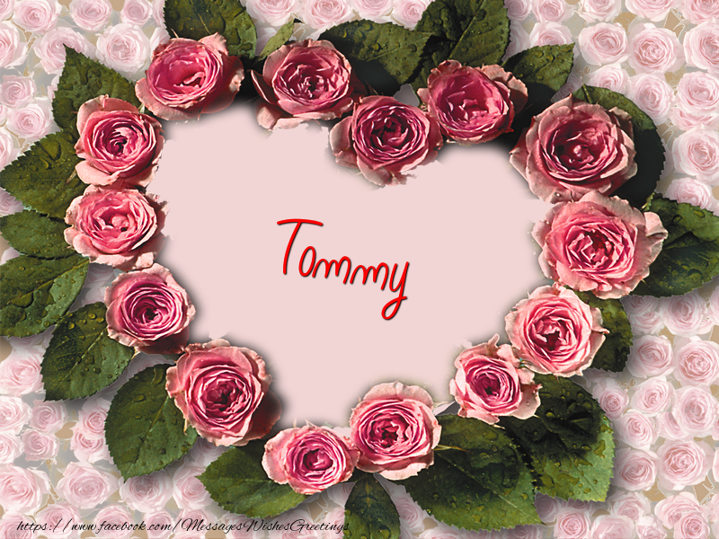 Greetings Cards for Love - Tommy