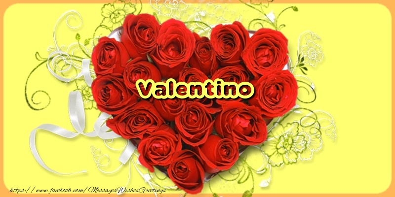 Greetings Cards for Love - Valentino