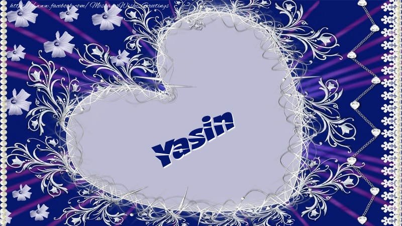 Greetings Cards for Love - Yasin