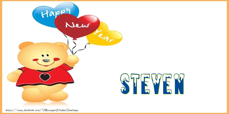 Happy New Year Steven! - Greetings Cards for New Year for Steven ...