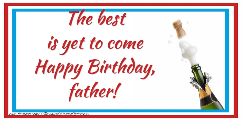 Greetings Cards For Birthday Father