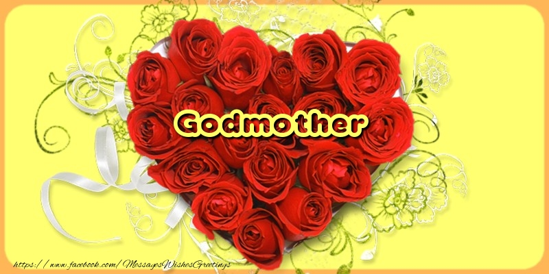 Greetings Cards for Love for Godmother - Godmother
