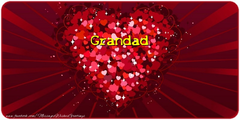 Greetings Cards for Love for Grandfather - Grandad