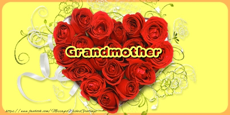 Greetings Cards for Love for Grandmother - Grandmother