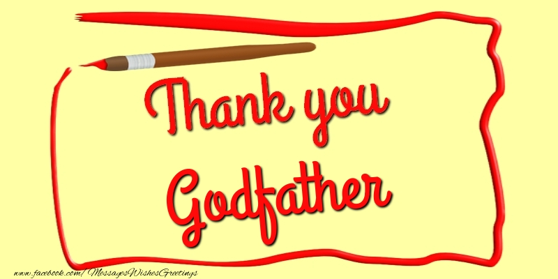 Greetings cards thank you for godfather thank you godfather greetings cards thank you for godfather thank you godfather m4hsunfo