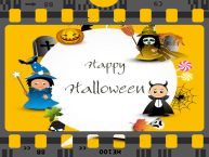 Animated Greeting card for Happy Halloween!